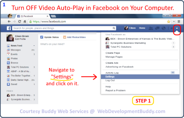 Image 01 - How to Turn Off Facebook Video Auto-Pay